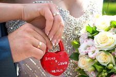 Free Padlock Wedding Royalty Free Stock Image - 35347686