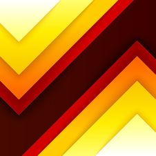 Free Abstract Red, Orange And Yellow Triangle Shapes Royalty Free Stock Photos - 35347868
