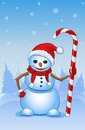 Free Santa Snowman Stock Photography - 35351602