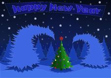 Free New Year Forest Stock Photos - 35351693
