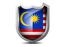 Free Flag Of Malaysia Stock Photo - 35351980