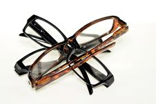 Free Glasses Isolated Royalty Free Stock Photos - 35353878