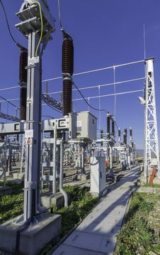 Free Electrical Station Royalty Free Stock Photography - 35356237