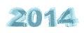 Free New 2014 Year Ice Figures Stock Photo - 35367570