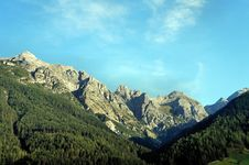 Free Stubai Alps Royalty Free Stock Photo - 35363575