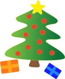 Free Christmas Tree Decor Stock Photos - 35365663
