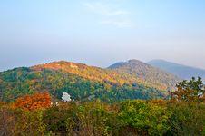 Free The Autumn Ridge Sunrise Royalty Free Stock Images - 35366519
