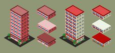 Free Isometric Building Stock Images - 35368994