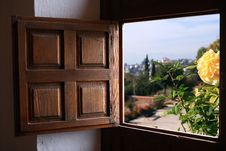 Free Old Window Stock Photography - 35369212