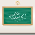 Free Green Chalkboard School Board With The Inscription Stock Images - 35376034