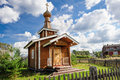 Free Small Wooden Church Royalty Free Stock Photography - 35377747