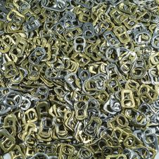 Free Recycling Aluminium Ring Stock Photography - 35373802