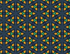 Free Vector Seamless Geometric Pattern Royalty Free Stock Image - 35376056