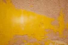 Free Weathered Yellow Wall Venice Royalty Free Stock Image - 35377696