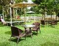 Free Chair In The Garden. Stock Photos - 35380223