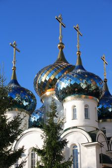 Free Russian Church Royalty Free Stock Image - 35381336