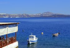 Free Splendid View Of Santorini From Thirasia Islan Stock Images - 35382334