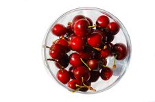 Free Bowl Of Cherries Royalty Free Stock Images - 35384649