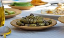 Free Olives In Front Stock Photo - 35386480