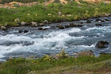 Free River With Rapids In Iceland Stock Images - 35387784
