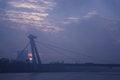Free SNP Bridge Sunset 1 Royalty Free Stock Photo - 35392375