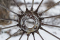 Free Wheel Sprocket And Spokes Stock Photo - 35396220