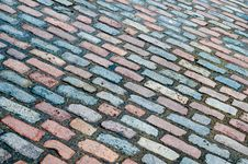 Free Diagonal Street Cobbles Stock Photography - 35392572