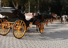 Free Carriage Parking Royalty Free Stock Photography - 35397687