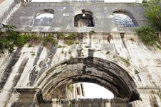 Free Ruins Of An Ancient Structure Royalty Free Stock Images - 35397949