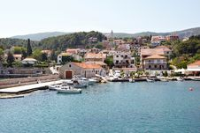 Free Landscape Of The Mediterranean Sea In Croatia Royalty Free Stock Photos - 35398148