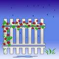Free Garden Fence Stock Image - 3540561