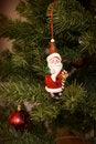 Free Santa In A Tree Royalty Free Stock Image - 3547466