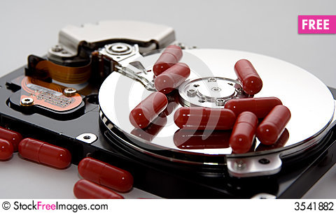 Free Disk Drive Remedy Stock Photography - 3541882