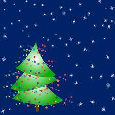 Free Funky Christmas Tree Stock Photography - 3540212