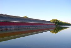 Free Moat, Forbidden City Royalty Free Stock Images - 3540219