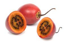 Tamarillo (Solanum Betaceum) Stock Photography