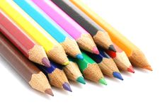 Free Colored Pencils Royalty Free Stock Images - 3541079