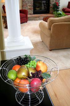 Fruit Decoration Stock Photo