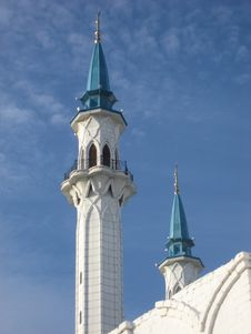 Free Mosque Kul-Sharif Royalty Free Stock Image - 3541356