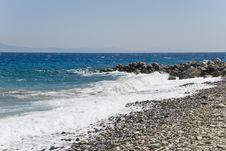 Free Beach In Greece Stock Image - 3541491