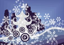 Free Winter Tree Background Royalty Free Stock Image - 3541526