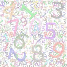 Free Numeric Pattern Stock Photo - 3541570