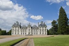 Free Chateau Cheverny Entrance Stock Images - 3541594