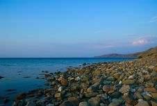 Free Stones On Wild Beach Royalty Free Stock Image - 3541876