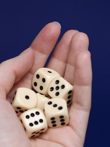 Free Dice Risk Stock Photos - 3542143