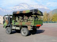Free Troop Transport Royalty Free Stock Image - 3542806