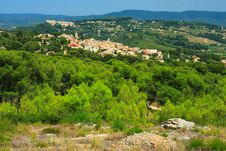 Free Village Of Provence Royalty Free Stock Photo - 3543155