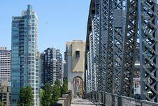 Free On Vancouver Bridge Royalty Free Stock Photo - 3544055