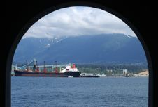 Free Vancouver Lighthouse Arch Royalty Free Stock Photography - 3544367