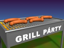 Free Full Grill Stock Images - 3546074